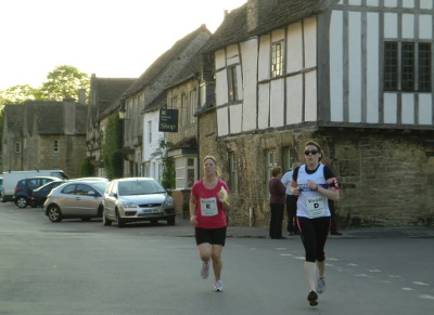 Runners in the Lacock Relays