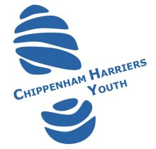 Harriers Youth Logo; imprint of a trainer